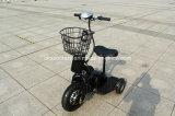 колеса трицикла 3 мотора эпицентра деятельности 350W 500W самокат электрического электрический