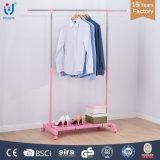 Extendable одиночная вешалка одежд штанги с пластичной доской