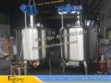 tanque de mistura do vácuo 50~1000liter com agitador do raspador