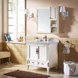 Rustikales Badezimmer-Schrank-Badezimmer Vanityt hölzerne gesundheitliche Waren (GSP14-004)
