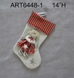 "12.5 ""Hx8.5"" Lchristmas Decoración Angel Giftbag"