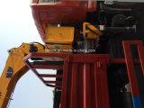 Cabine dobro de Forland 4X2 caminhão telescópico de 3.2 toneladas com guindaste