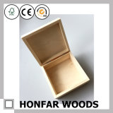 Rectángulo de almacenaje de madera moderno del rectángulo de regalo para el regalo de día de fiesta
