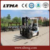 O melhor Forklift marca 2t mini Forklift da gasolina do LPG para a venda