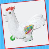 دفعت ديك [شوك] دجاجة لعبة مع سكّر نبات حلوة