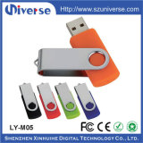 mecanismo impulsor de destello de la pluma de la memoria del USB del palillo de la memoria del mecanismo impulsor del USB 2.0 del diseño del metal del eslabón giratorio 8GB