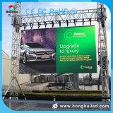 옥외 광고 P10 발광 다이오드 표시 스크린