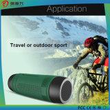 Fahrrad drahtloser Bluetooth Audiolautsprecher mit Energienbank und LED-Licht