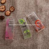 Projeto de pacote cosmético plástico personalizado da caixa do PVC do projeto (caixa do pacote do PVC)