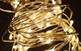 [لد] نحاسة زخرفيّة ضوء [10م] [100لدس] عيد ميلاد المسيح خيط ضوء