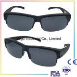 Les verres de sûreté de mode d'OEM ont polarisé l'ajustement au-dessus des lunettes de soleil