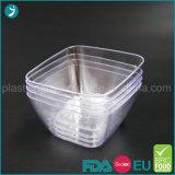 Tazón de fuente de ensalada plástico grande