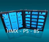 Visualizzazione di LED dell'interno di P5 HD per la fase locativa