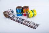 Película plástica de empaquetado modificada para requisitos particulares de la cubierta