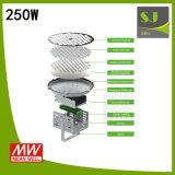 250 vatios de luz de proyección