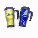 Caneca de viagem de aço inoxidável de parede dupla grátis BPA, caneca de auto, caneca de promoção (SH-SC65)