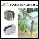 Quadratischer Glasclip für Geländer
