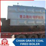 Chaudière à eau chaude de charbon de chargeur automatique de grille à chaînes