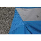 100 camisas reflexivas azuis respiráveis por atacado do trabalho do algodão