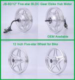 """Jb-92/12 """" motor eléctrico engranado sin cepillo del eje de rueda de DIY 36V 250W 12inch"""