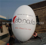 preço de fábrica elevado K7056 do balão do hélio do PVC do Oval de 3m