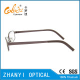 Monocolo di titanio Eyewear (9114-EW) del blocco per grafici di vetro ottici del Pieno-Blocco per grafici leggero variopinto