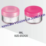 5g Cosmetic Cream Jars, Plastic Empty Small Jar
