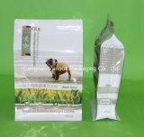 Flat-Bottom Dog Food Zipper Bag