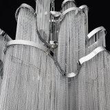 Troddel-Aluminiumkettenleuchter, der hängende /Suspension/Drop/Hanging-Lichter des modernen Flures beleuchtet