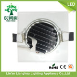7W grand dos rond DEL vers le bas /Downlight léger