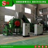 폐기물 구리와 차 재생을%s 장기 사용 시간 금속 조각 슈레더 기계