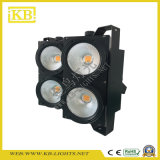Venta caliente Luz Calidad 4 * 100W LED COB Blinder para la Etapa