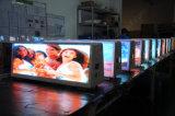 Schermo di visualizzazione esterno del LED del Mobile P5 sul tetto del tassì con colore completo
