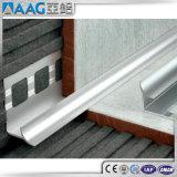 Testo fisso d'angolo di alluminio anodizzato delle mattonelle