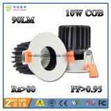 A luz de teto 10W do diodo emissor de luz do poder superior com Ce&RoHS aprovou