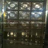 Painel do aço inoxidável de parede de divisória do projeto interior no revestimento de bronze na venda