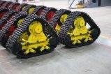 オートバイおよび三輪車のクローラー歩くシステムのためのゴム製クローラー歩くシステム