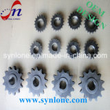 CNC 기계를 위한 기계로 가공 강철 사슬 바퀴