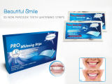 não dentes da etiqueta confidencial do peróxido 3D que Whitening tiras