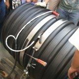 Il PE della fascia d'acciaio ha ondulato il tubo d'acciaio di muggito ricoperto Pipe/PE