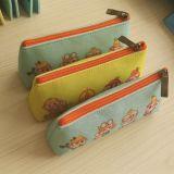 Les sacs fabriqués à la main de femme de feutre ont cranté des sacs de crayon lecteur de feutre de sac de bourse
