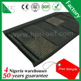 Hete Verkoop in Tegels van het Dakwerk van het Staal van Nigeria/van Tanzania/van Kenia/van Ghana de Steen Met een laag bedekte
