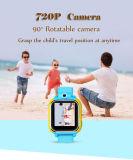 Câmera nova do GPS Locatio de 2017 miúdos esperta - câmera do relógio 720p do telefone
