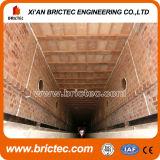 Four au tunnel pour le séchage des briques