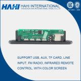 12V доска дешифратора MP3 карточки USB TF с регулятором