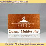 Glittering Printed PVC magneetstrip Card voor Previliege Membership