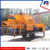 Il camion idraulico ha montato la pompa della betoniera utilizzata per costruzione