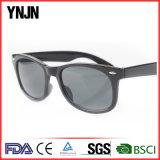 Ynjn UV400 retro nessun occhiali da sole polarizzati plastica unisex di marchio