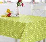 Tablecloth impresso PVC amigável do projeto novo com revestimento protetor de tela