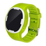 Teléfono del perseguidor del reloj del GPS del cabrito con el SOS que llama la localización de las libras/WiFi/Agps o para los ancianos del niño (GPT18)